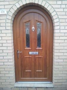 uPVC Arched Door 1