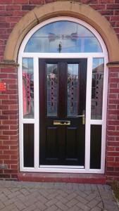 uPVC Arched Door 2