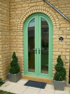 Arched door frame example 5